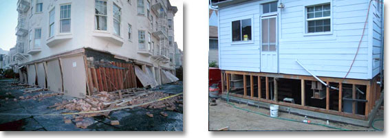 Loma Prieta Earthquake - 1989 Cripple Wall Strengthening