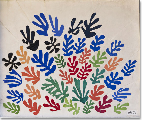 """La Gerbe"" by Henri Matisse - Los Angeles County Museum of Art"